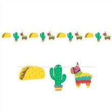 Banner Pinata/Taco Shapes 1pc