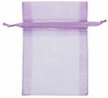 Organza Bags Lilac 24ct