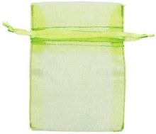 Organza Bags Honeydew 24ct