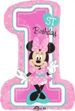 "Minnie Mouse 1st Birthday ~ 28"""