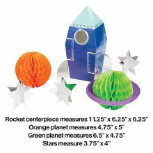 Outer Space Centerpiece Kit 3pc