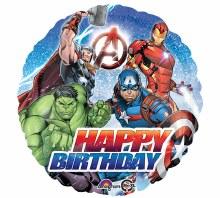 """18"""" Avengers ~ Happy Birthday"""