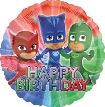 """18"""" PJ Masks ~ Happy Birthday"""