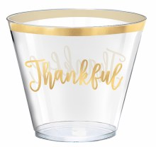 Tumblers 9oz Thankful