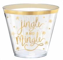 Jingle & Mingle 9oz Tumblers