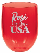Patriotic Stemless Wine Glass
