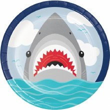 Shark 9in Plate 8ct
