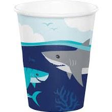 Shark 9oz Cup 8ct