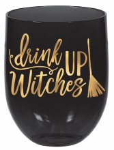Wine Glass Stemless Witches