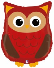 "Jumbo Owl Mylar ~ 26"""