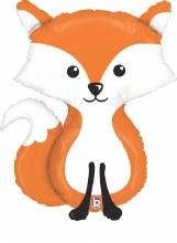 "Jumbo Fox Mylar ~ 36"""