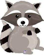 "Jumbo Raccoon Mylar ~ 36"""