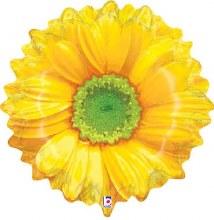 "Flower Yellow ~ 24"""