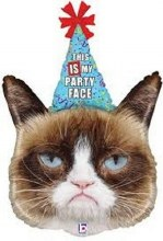 Grumpy Cat Party Face ~ 36""