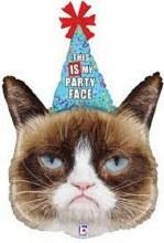 "Grumpy Cat Party Face ~ 36"""