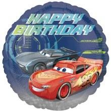 "Cars Lightning McQueen Happy Birthday ~ 17"""