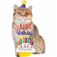 """Happy Birthday Cat ~ 33"""""""