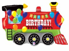 Happy Birthday Party Train ~ 37""
