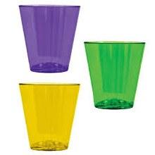 Mardi Gras Shot Glasses 40ct
