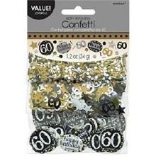 Sparkling 60 Confetti