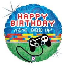 "Gamer You've Leveled Up Happy Birthday ~ 18"""