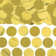 Confetti Circles Gold 2.25oz