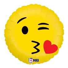 """Emoji Kiss ~ 18"""""""