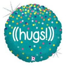 "Holographic HUGS ~ 18"""
