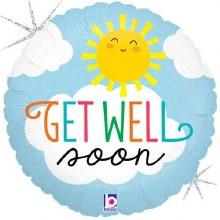 """MYLR Get Well Soon Sun 18"""""""