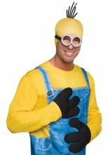 Gloves Minion Adult
