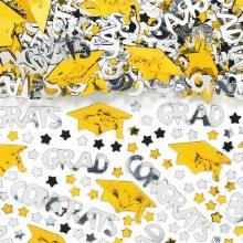 School Colors Yellow Confetti
