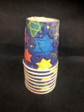 Star of David 7oz Cups