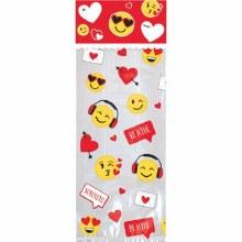 Valentine Emoji Treat Bag Kit