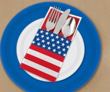 Cutlery Holders Patriotic