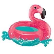 """""""30'' Floating Flamingo"""
