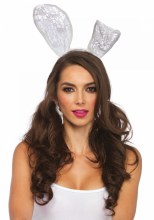 Bunny Ear White Lace