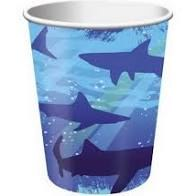 Shark Splash 9oz Hot/Cold Cups 8ct