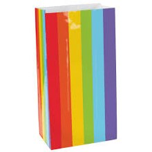 Rainbow Papre Loots Bags (12pk)