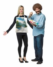 Bob Ross/Painted Canvas Kit