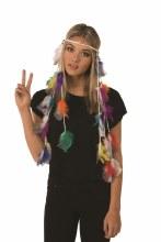 Headband Hippie Boho Feathers