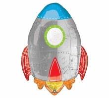 "Jumbo Rocket Ship ~ 29"""