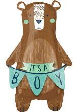 """We Can Bearly Wait ~ It's A Boy ~ 38"""""""