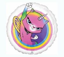 Blln 17'' Rainbow Kitty