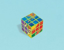 Dinosaur Puzzle Cube Favor