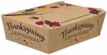 Thanksgiving To Go Boxes