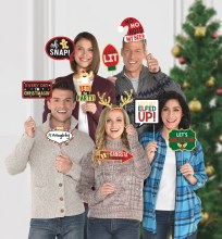 Photo Prop Christmas Words