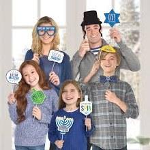 Hanukkah Signs Photo Props