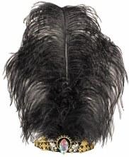 Tiara Vintage Jewel Feathered