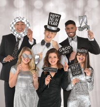 Photobooth Props HNY DiscoBD
