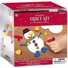 Snowman Craft kit